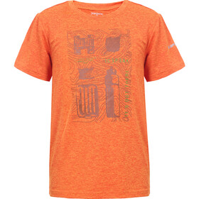 Icepeak Lorch T-Shirt Kinderen, burned orange